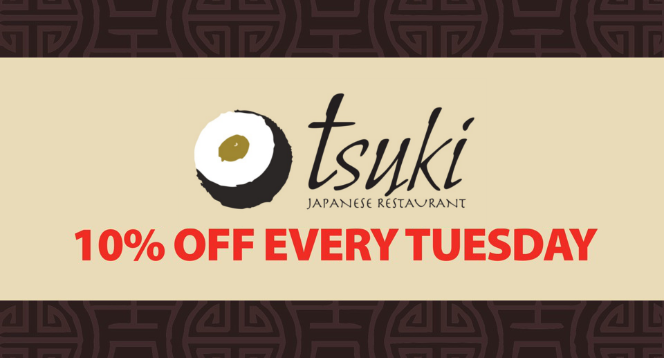 10% off every Tuesday